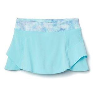 ATHLETA GIRL Aqua Pools Super Skort Tennis Running